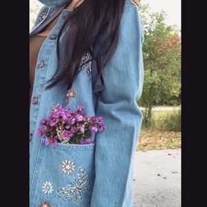 The Blue vintage jean jacket